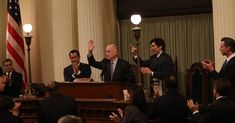 #MONSTASQUADD California Today: California Today: A Final State of the State From Jerry Brown