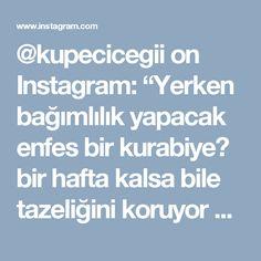 """@kupecicegii on Instagram: """"Yerken bağımlılık yapacak enfes bir  kurabiye😍 bir hafta kalsa bile tazeliğini koruyor arkadaşlar. Lokmalık,  Kakaolu, Susamlı Gelin Kız…"""""""