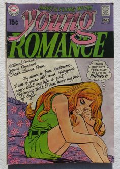 Vintage Comic Book 1970 YOUNG ROMANCE 1970s | Flickr - Photo Sharing!