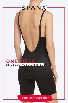 SPANX Suit Your Fancy Shapewear Solution fitness clothes clothes cute clothes for women clothes lululemon Bodysuit, Gaines, Fancy, Up Girl, Suits You, Swagg, Just In Case, What To Wear, Athletic Tank Tops