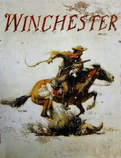 Winchester's Pony Express Rider