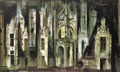 John Piper / Roof at Chambord