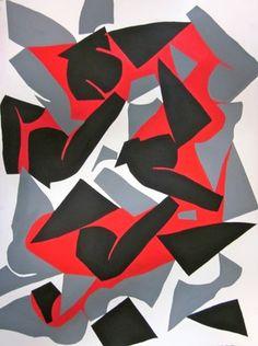 "Saatchi Art Artist Laurie Raskin; Painting, ""Homage to Matisse  - SOLD"" #art"