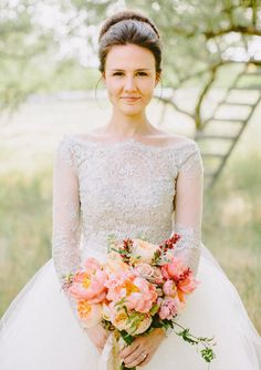 The OAK: Modest Wedding Gowns For The Modern Bride-- Click the link and you will see some of the most beautiful wedding gowns ever.