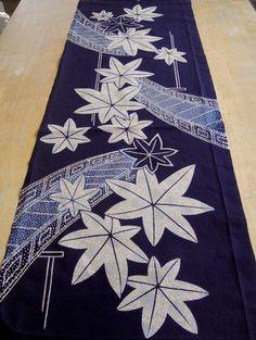 Yukata kimono fabric, vintage