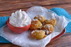 Funnel Cake Bites Recipe😋 #Food #Drink #Musely #Tip
