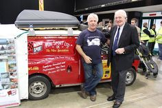 Paddy Hopkirk with Dave Thomas of 'The Wrong Way Round' - https://www.facebook.com/pages/The-Wrong-Way-Round/255730784555442?fref=ts
