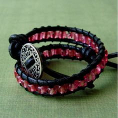 Bohemian chic wrap bracelet... so cute! earthxpressions