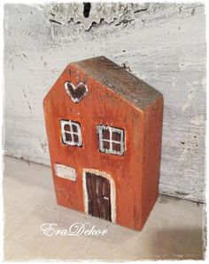 Karácsonyi ajándék ház, Baba-mama-gyerek, Otthon, lakberendezés, Dekoráció, Karácsonyi, adventi apróságok, Meska