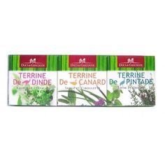 DUCS DE GASCOGNE Lot 3 Terrines aux Herbes