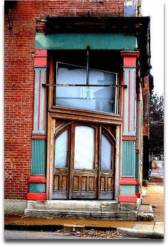 This doorway along Chouteau Avenue in St. Louis