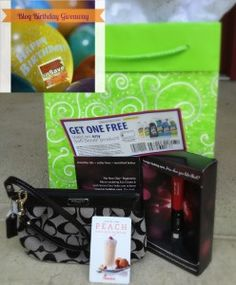 Mission to Save Blog Birthday Coach Giveaway Grab Bag! Ends 7/1/13