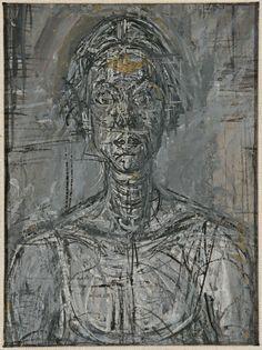 Alberto Giacometti, Bust of Annette, 1954, Private Collection. © The Estate of Alberto Giacometti (Fondation Giacometti, Paris and ADAGP, Paris) 2015.
