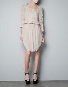 EMBROIDERED DRESS - Dresses - Woman - ZARA United States