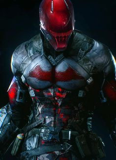 BATMAN ARKHAM KNIGHT - RED HOOD