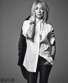 Kim Gordon graces the 'Harper's Bazaar' 'Fabulous at Any Age' issue. Photo: 'Harper's Bazaar'