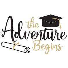 Masters Graduation Pictures Discover Silhouette Design Store the adventure begins Graduation Images, Graduation Cards Handmade, Graduation Desserts, Graduation Cookies, Graduation Quotes, Graduation Decorations, Graduation Gifts, Congratulations Quotes, Congratulations Graduate
