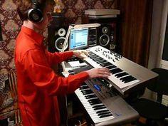 Live 1980's Keyboard Solo Medley on Novation KS-5 & X-Station