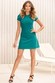 Cap-sleeve travel #dress #mini #morning