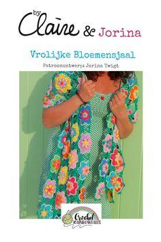 byClaire FRIENDS - patroon - ByClaire - Haakpatronen, Haakboeken, Haakgaren Crochet Cardigan, Crochet Shawl, Crochet Sweaters, Kerchief, Chrochet, Shawls And Wraps, Crochet Patterns, Crochet Tutorials, Crochet Necklace