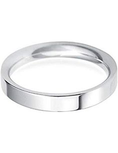 Jewels By Lux Cobalt Satin and Polished 7mm Ridged Edge Band