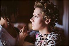 jenrobeauty / www.jenrobeauty.c.... Behind the scenes, wedding makeup. #bridal #makeup #lashes #mac #jenrobeauty #glamsquad #jenroteam #weddings