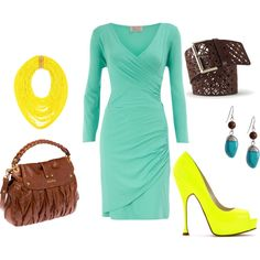 Can't get enough of yellow and blue!, created by growmuch on Polyvore