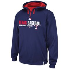 Mens Houston Texans Majestic Navy Blue Passing Game IV Pullover Hoodie