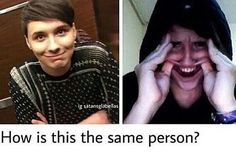 That picture. J-Just... Dan why do I have a crush on you?