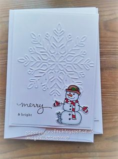 Hiya, I thought I would share today some of the cards I made last week for the charity Christmas Cheer Challenge. I needed the cards . Cat Christmas Ornaments, Christmas Card Crafts, Homemade Christmas Cards, Christmas Cards To Make, Xmas Cards, Homemade Cards, Greeting Cards, Christmas 2019, Christmas Cactus