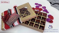 Spread Happiness this Eid with a luxury box of Chocolates :) Chocolate Box, Eid, Chocolates, How To Memorize Things, Happiness, Gift Wrapping, Luxury, Gifts, Gift Wrapping Paper