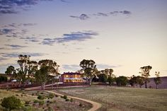 A view of Kingsford Homestead, where McLeod's Daughters was filmed. Picture: SA Tourism Commission.