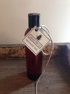 Organic Vanilla Body Wash from Junebug Soap Co. Available at www.etsy.com/shop/JunebugSoapCo