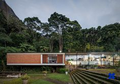 "277. Sergio Vladimir Bernardes /// Lota Macedo Soares House /// Samambaia, Petrópolis, Rio de Janeiro, Brasil /// 1953 OfHouses guest curated by CI-AA: ""Amid the division between the Rio and São..."