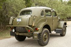 Volvo TP-21 Sugga Swedish Military 4WD - 1956 dr bill is in love. Many old Volvos in my life but not this one.