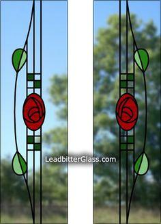 Split Glazed Rennie Mackintosh door