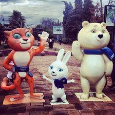 Sochi Olympic Mascots 2014