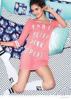 5287057f393 SARA SAMPAIO FOR VICTORIA'S SECRET PINK LINE Victoria Secret Pink, Μοντέλα  Victoria Secret, Victoria
