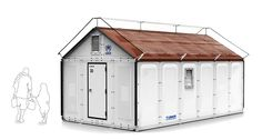 $1000 Foldable Solar Powered House Designed by IKEA To Provide Shelter For Refugees