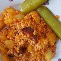 Pásztortarhonya Grains, Rice, Food, Meal, Eten, Meals, Jim Rice, Korn, Brass