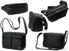 Porter Tanker / Shoulder Bag L 08810 Black / Yoshida Bag