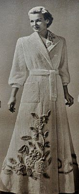 remember chenille bath robes? Would so like to have one now.