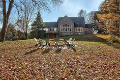 Carlisle Ontario Fall Views Carlisle Homes, Luxury Real Estate, Ontario, Acre, Canada, Cabin, Mansions, House Styles, Fall