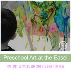 Tips and activities for using the easel at home or in the classroom.
