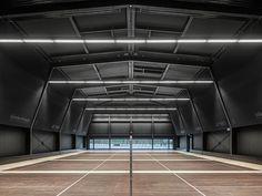 Jan Henrik Hansen, Rolf Iseli, Architects ETH SIA, Roger Frei · Badminton Hall, Langnau am Albis. Switzerland · Divisare