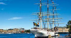 Hotel on a boat in Stockholm, Sweden -- Af Chapman