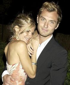 Sienna Miller & Jude Law - they were the most beautiful couple ever.