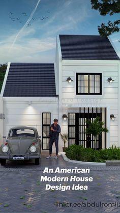 Country House Design, Modern House Design, American Style House, Modern Exterior, Minimalist Design, Future House, Architecture, Arquitetura, Minimal Design