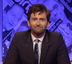 David Tennant presenting Have I Got News For You on BBC One tonight #davidtennant #haveigotnewsforyou #hignfy