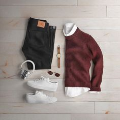 pulls for men inspiration grid style outfits mens outfit men's fashion style inspiration casual style Stylish Men, Men Casual, Stylish Clothes, Hot Clothes, Casual Outfits, Fashion Outfits, Fashion Hair, Sneakers Fashion, Style Fashion